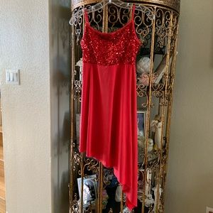 Ladies Dance/Costume Sequined Dress